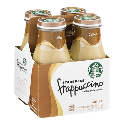 Starbucks Frappuccino Chilled Coffee Drink - 4 CT