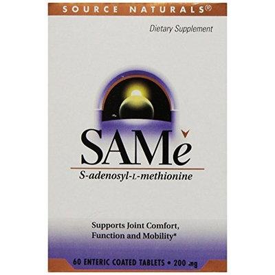 Source Naturals SAMe, 200mg, 60 Tablets