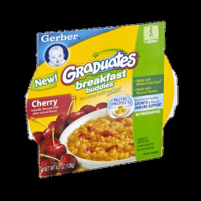 Gerber Graduates Breakfast Buddies Cherry Hot Cereal