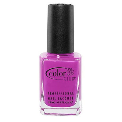 Color Club Poptastic Neons Nail Polish - Peace Out Purple