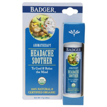 Badger Headache Soother, .6 oz