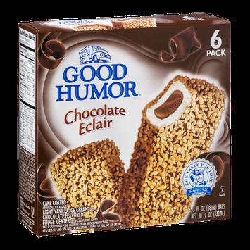 Good Humor Chocolate Eclair Bars - 6 CT