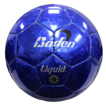 Baden Liquid Metallic Ball, Blue - Size 4