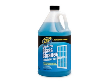 ZEP Cleaning Products 128 oz. Streak-Free Glass Cleaner (Case of 4) ZU1120128