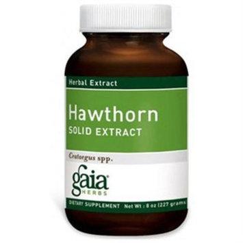 Hawthorn Berry Solid Extract Gaia Herbs 8 oz Liquid