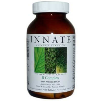 Innate Response - B Complex 180 Count - Promotes energy and health of the nervous system