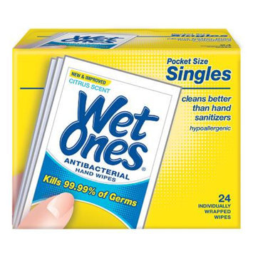 Wet Ones Antibacterial Hands & Face Wipes