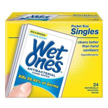 Wet Ones Antibacterial Hands & Face Wipes