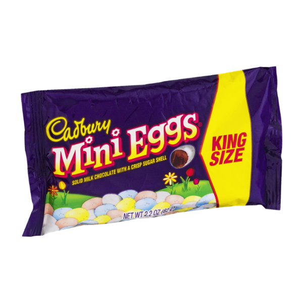 Cadbury Easter Mini Eggs Candy Coated Milk Chocolate