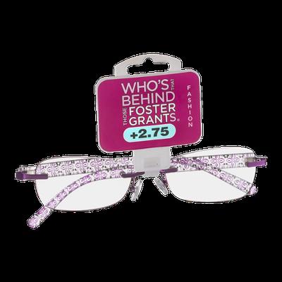 Foster Grants Non-Prescription Glasses Fashion +2.75 Daniella PRP