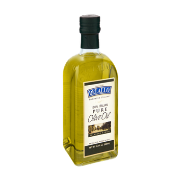 Delallo Imported Balanced & Mild 100% Italian Pure Olive Oil