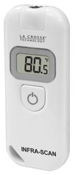 La Crosse Technology Wireless Infra-Red LCD Scanning Thermometer