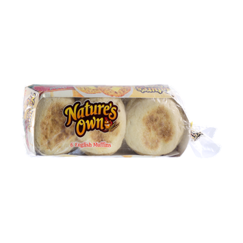 Nature's Own Original English Muffins - 6 CT