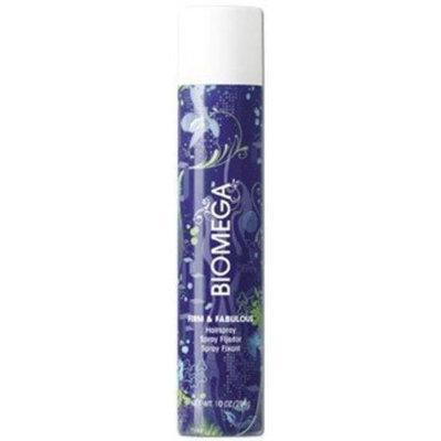 Aquage Biomega Firm and Fabulous Spray Hair Spray for Unisex, 10 Ounce
