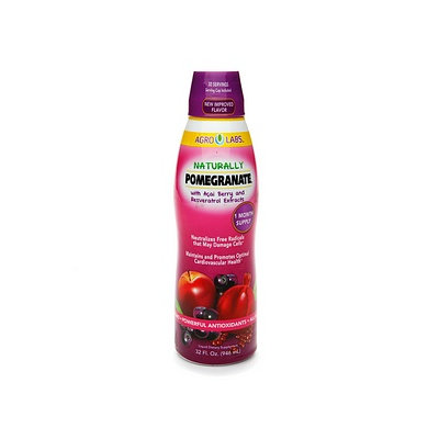 Agrolabs Naturally Pomegranate with Acai Berry and Resveratrol Extracts