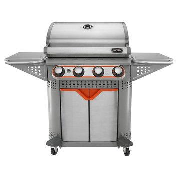 Stok Quattro Four-Burner Gas Grill