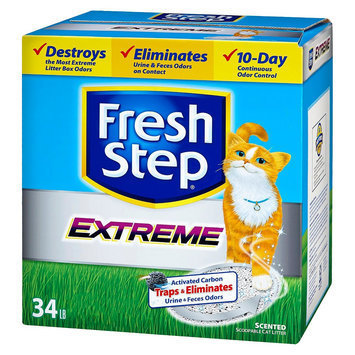 The Clorox Company Fresh Step Extreme Odor Control Cat Litter - 34 lb.