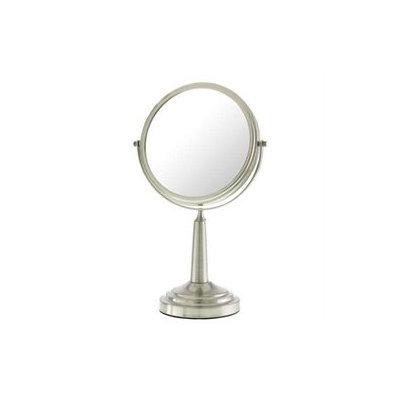 Upper Canada Soap D861 Satin Nickel Vanity Mirror