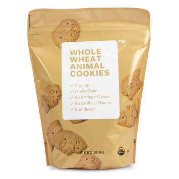 BRANDLESS™ Whole Wheat Animal Cookies