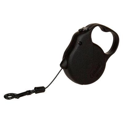 Flexi Retractable Leash - Black (10')