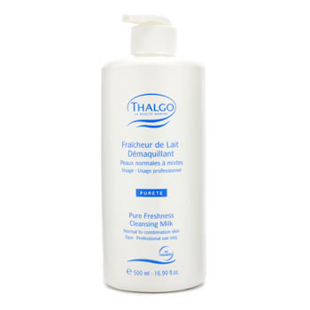 Thalgo Pure Freshness Cleansing Milk (N/C) (Salon Size) 500ml16.90oz