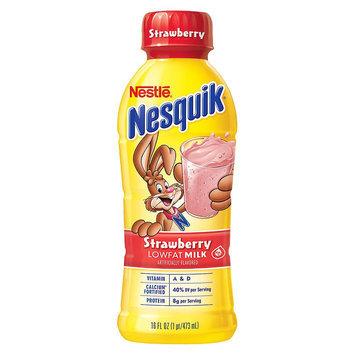 Nestlé Nesquik Strawberry Lowfat Milk