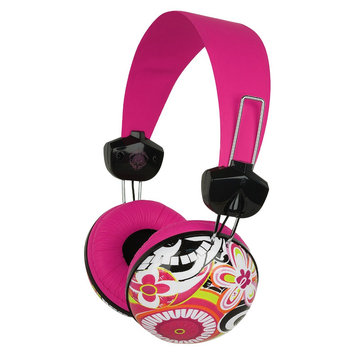 Merkury Innovations Large Headphones - Sloane Piccadilly - Multicolored (MB-HL2SP) MB-HM001-LPE