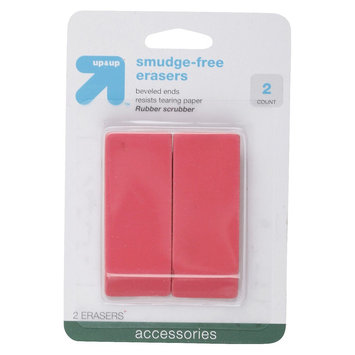 up & up Erasers - 2 ct