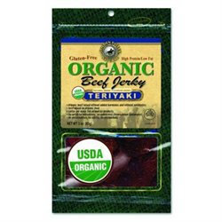 Golden Valley Natural Organic Beef Jerky Teriyaki - 3 oz