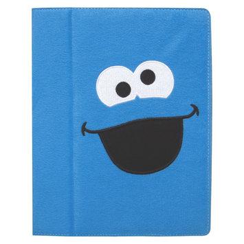 iSound Sesame Street Cookie Monster Plush Portfolio for iPad 2 - Blue