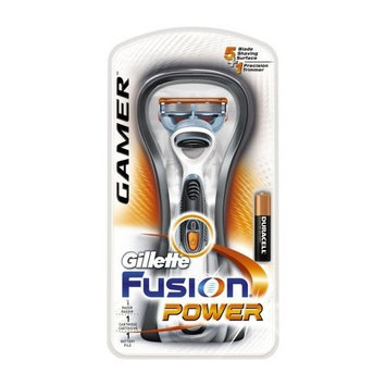Gillette Razor Power, Fusion Gamer, 1-Count Package