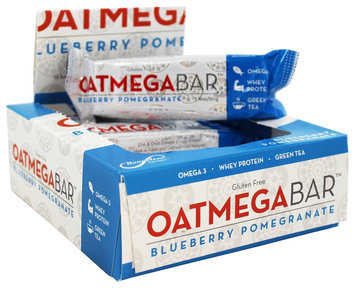 Boundless Nutrition - Oatmega Bar Blueberry Pomegranate - 1.8 oz.