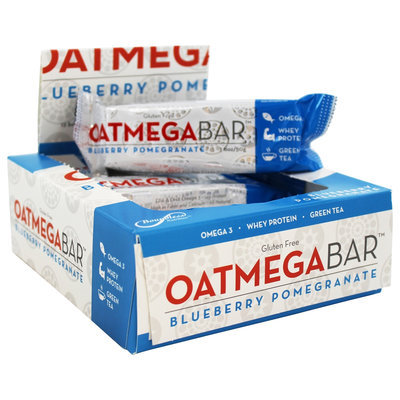 Boundless Nutrition - Oatmega Bar Blueberry Pomegranate - 1.8 oz.