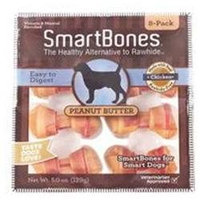 Petmatrix Llc - Smartbones- Peanut Butter Mini-8 Pack - PB-00210