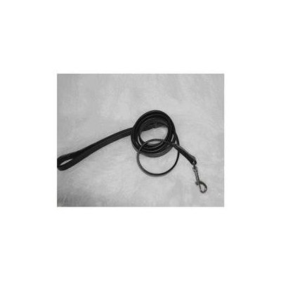 Hamilton Pet Products Leather Lead in Black