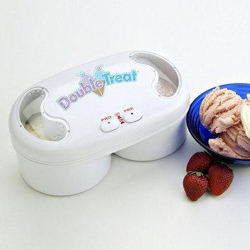 Koolatron Total Chef Double Treat Ice Cream Maker (White)