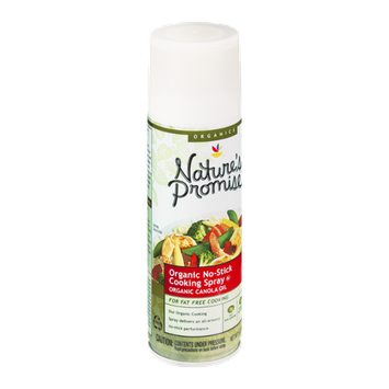 Nature's Promise Organics Organic No-Stick Cooking Spray Canola Oil