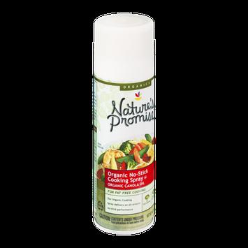 Nature's Promise Organics Organic No-Stick Cooking Spray Canola Oil