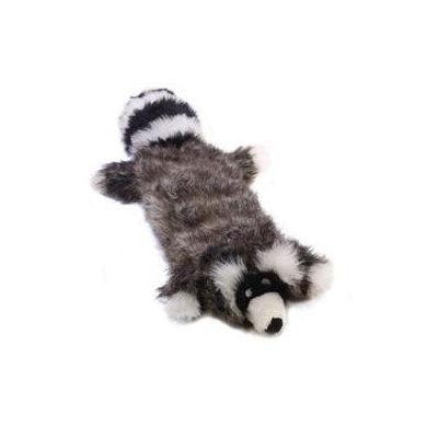Kyjen Plush Puppies Squeaker Real Animal Raccoon Dog Toy