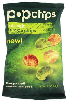 popchips Sea Salt Veggie Chips