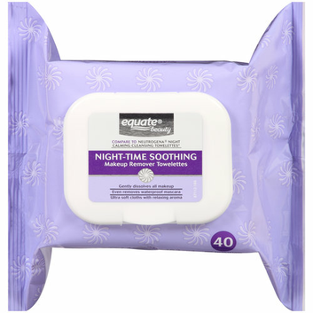 Equate Beauty Night-Time Soothing Makeup Remover Towelettes