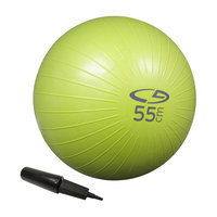 C9 Champion C9 Core Fitness Ball - AB - Basic - 55cm w/H. Pump - Lime