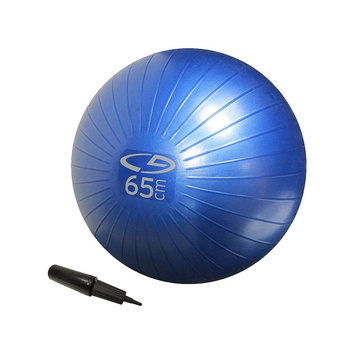 C9 Champion C9 Core Fitness Ball - AB - Basic - 65cm w/H. Pump - Blue
