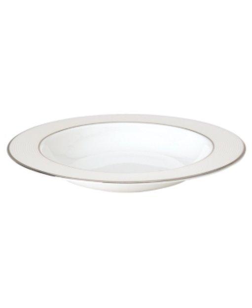 Lenox Opal Innocence Stripe Pasta Bowl/Rim Soup