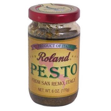 Roland, Pesto Sauce San Remo, 6 OZ (Pack of 6)