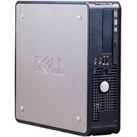 Optiplex Dell Refurbished 780 Small Form Factor Desktop PC with Intel Core 2 Duo Processor, 4GB Memory, 1TB Hard Drive and Windows 7 Professional (Monitor Not Included)