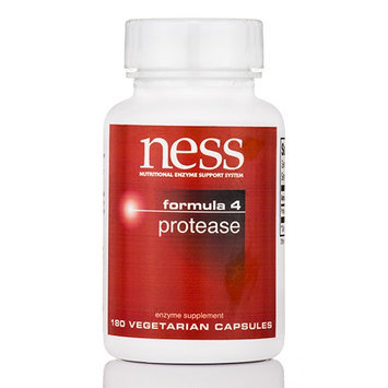 Ness Enzyme's Protease #4 180 caps by Ness Enzymes
