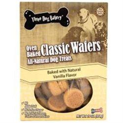Three Dog Bakery 050010 Classic Wafers Vanilla 16 Ounce