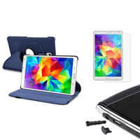 Insten INSTEN Navy Blue Magnetic Case Cover For Samsung Galaxy Tab S 8.4 T700+Screen Protector