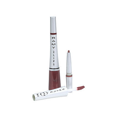 Ramy 2 Lips Liner & Gloss, Call Me Red, 1 ea